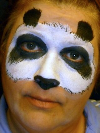 Gallery For Easy Animal Face Paint Face Painting Easy Panda Face Painting Animal Face Paintings