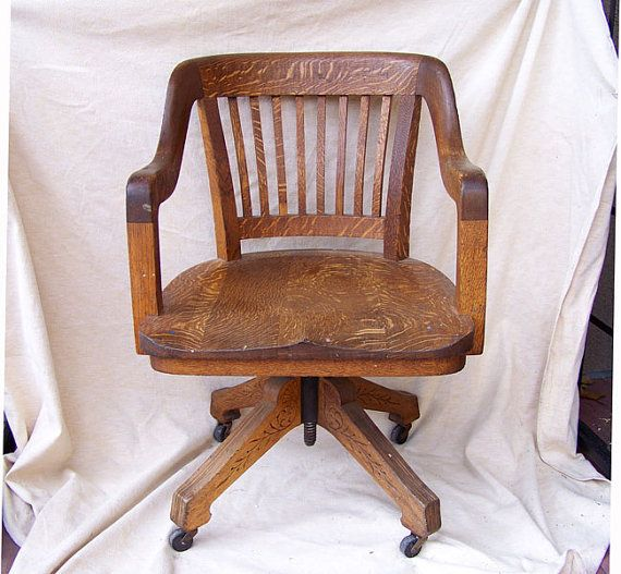 eastlake office chair art deco desk chair solid oak carved base