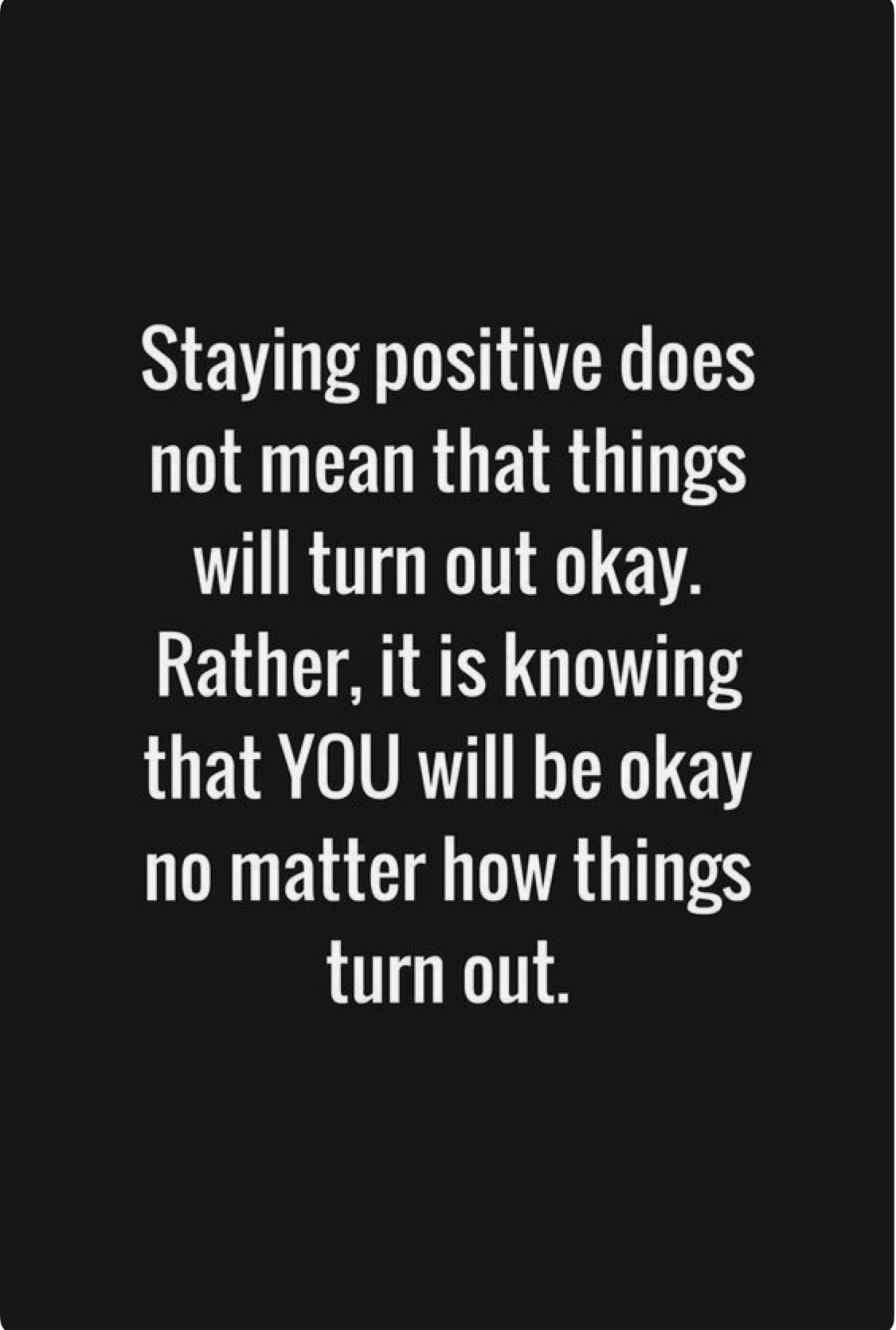 Keep moving forward with positivity!