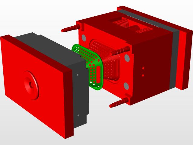 small basket mold (ARPAN AWASTHI 8004987268) - Parasolid - 3D CAD