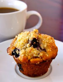 Delight's Bites: Citrus-Zested Blueberry Muffins
