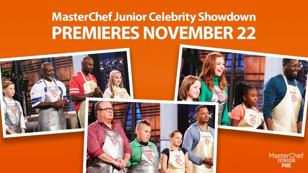 Updated Thursday Ratings Fox Places Runner Up With Masterchef Junior Celebrity Showdown Masterchef Junior Celebrities Fox