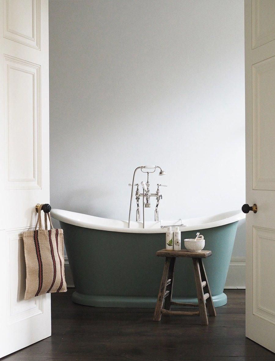 Elegant Bathroom With Green Roll Top Bath Doggy Friendly Hotels In The Uk No 38 The Park Cheltenh Bathroom Accessories Luxury Roll Top Bath Bathroom Design