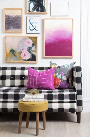 now trending: buffalo plaid | Pinterest | Plaid sofa, Buffalo plaid ...