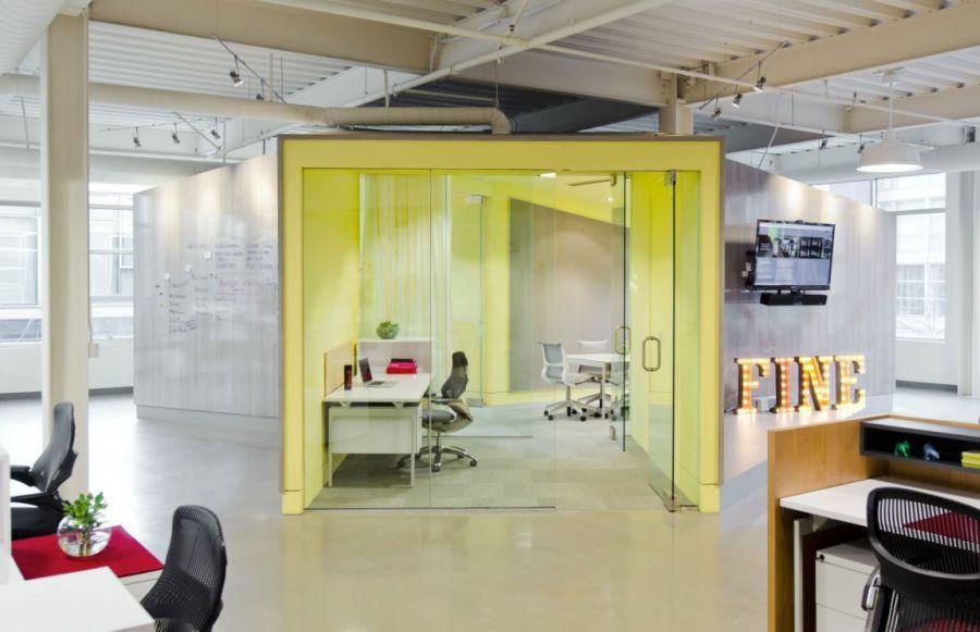 Cool Office Interiors With Cool Office Space For Fine Design Group By Boora Architects