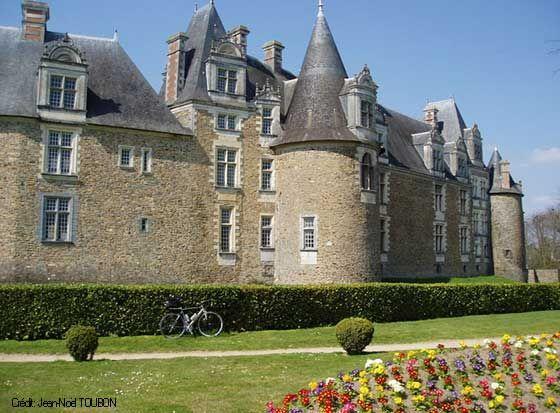 El castillo de Chateaubriant, Pays de la Loire, Francia http://www.loire-atlantique.fr/jcms/cg_7521/chateau-de-chateaubriant-also-in-english