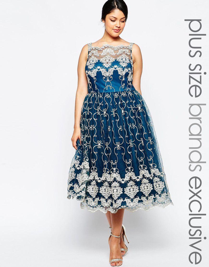 Sleeveless Semi Formal Dresses for Plus Size Women