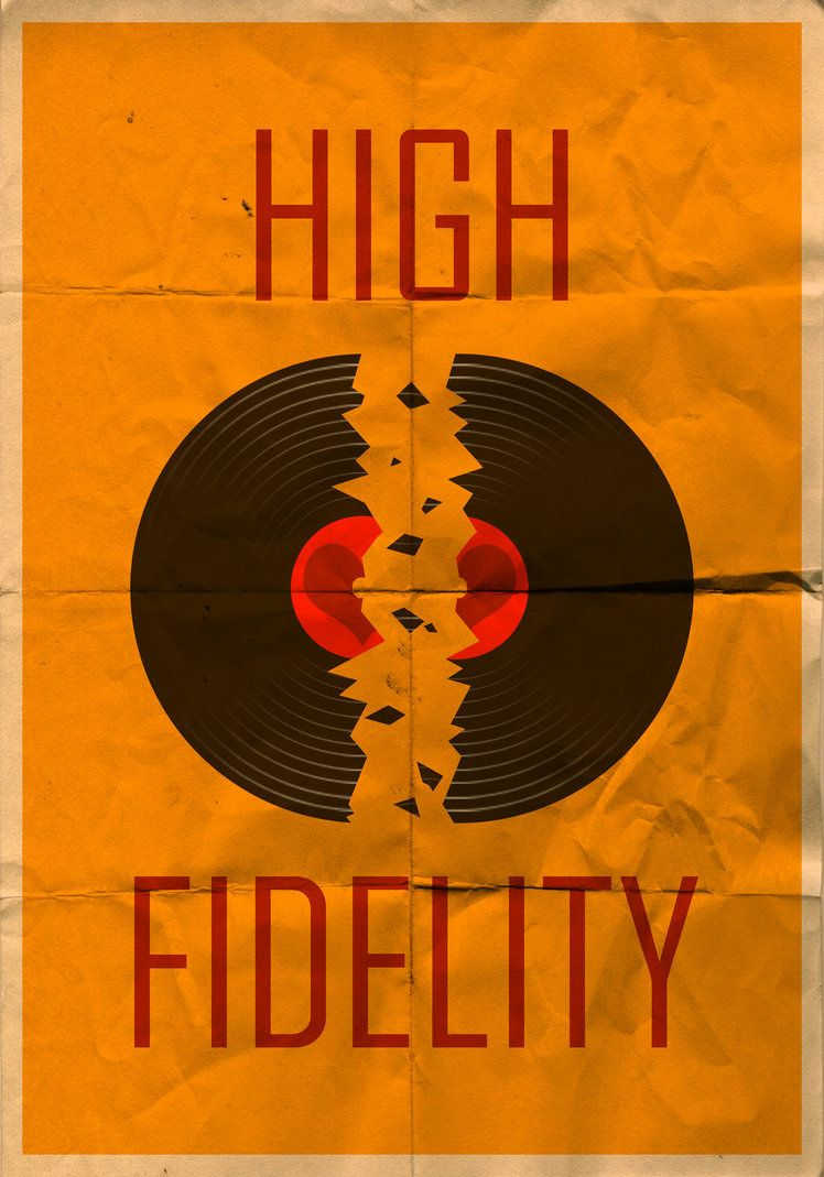High Fidelity Vintage Poster By Mazzy12345 Movie Posters