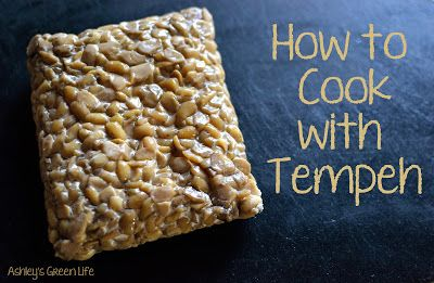 Ashley's Green Life: How to Cook with Tempeh (for Spaghetti & Nachos)