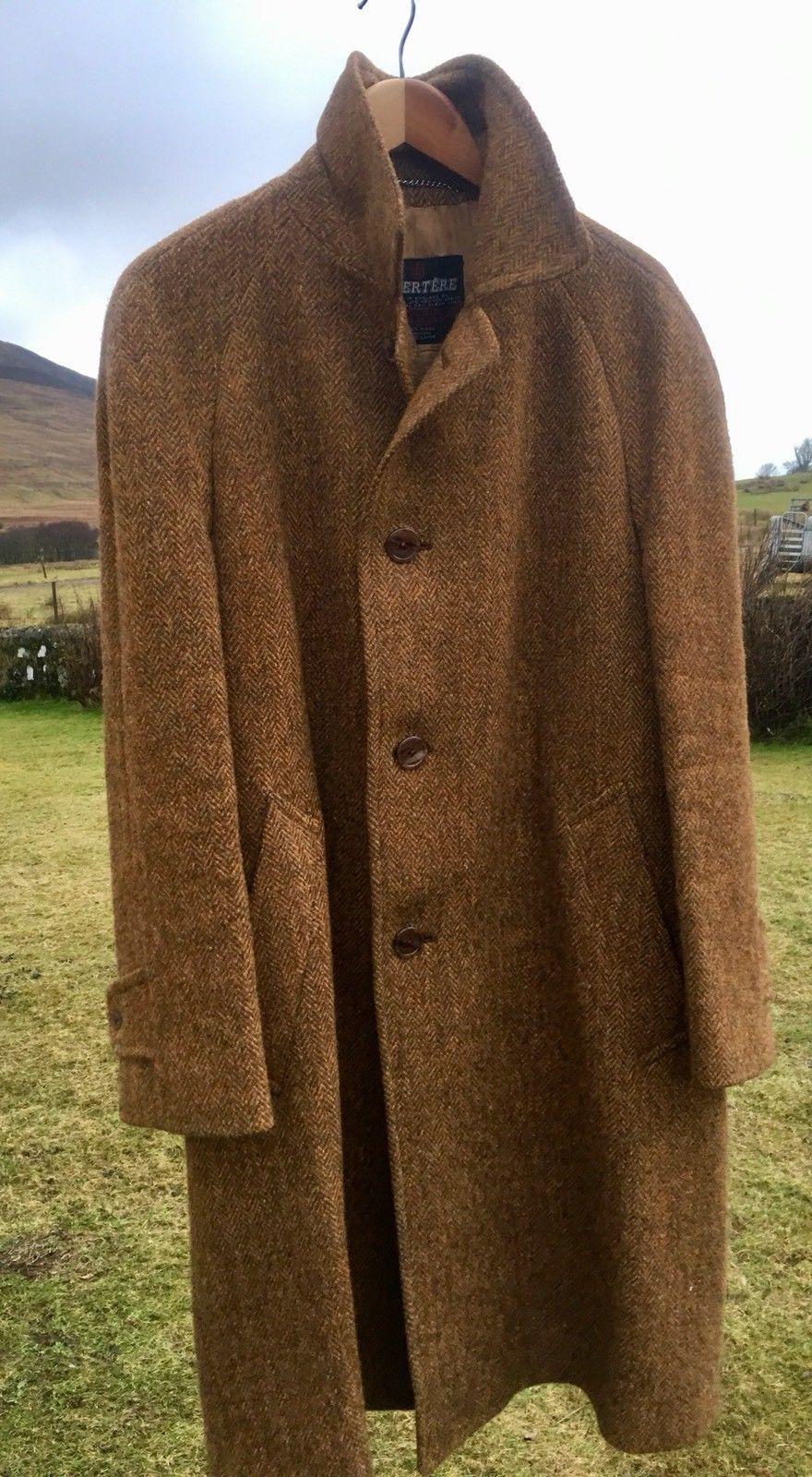 Vintage Harris Tweed Coat Jacket Invertere SUPERB CONDITION  d5fcdaf8ba0
