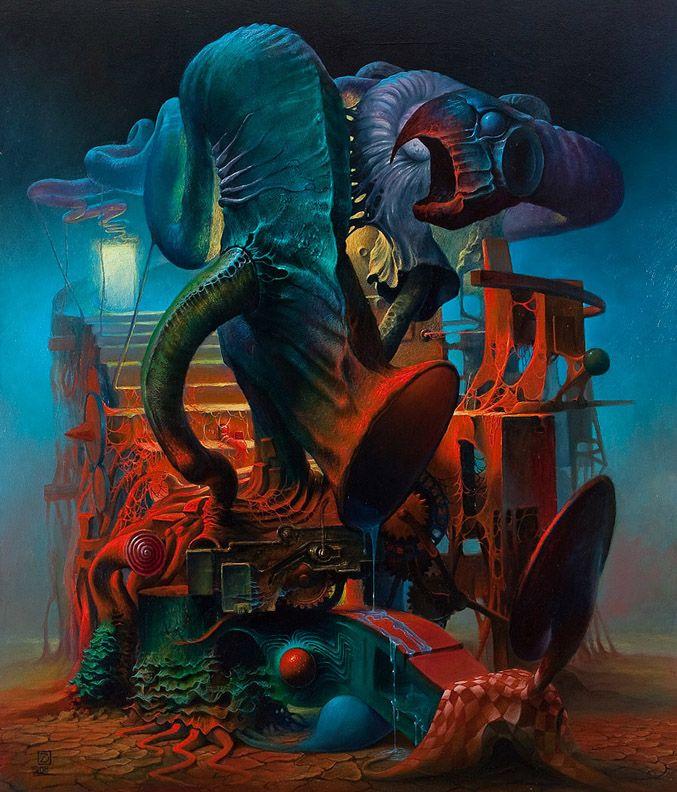 Dariusz3 Art Surreal Art Painting