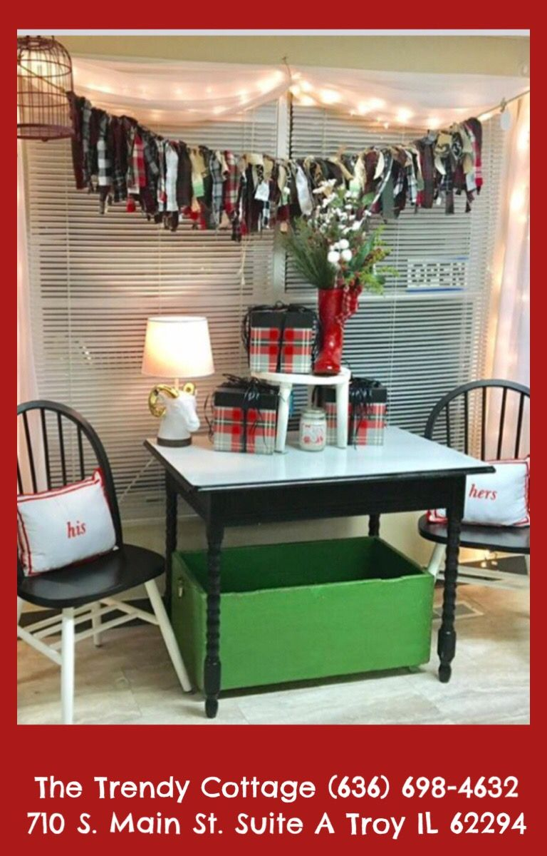 Beautiful things for Christmas at The Trendy Cottage! #Plaid #Christmas #Tartan