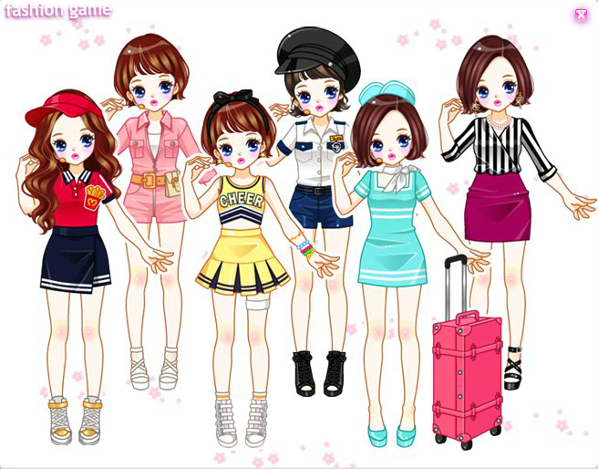Trendy Girl Dress up Game - Play online at Y8.com