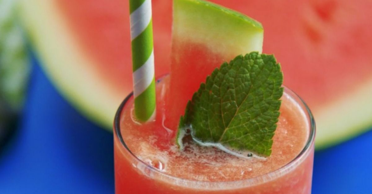 Cool refreshing drinks in the summertime are a must as