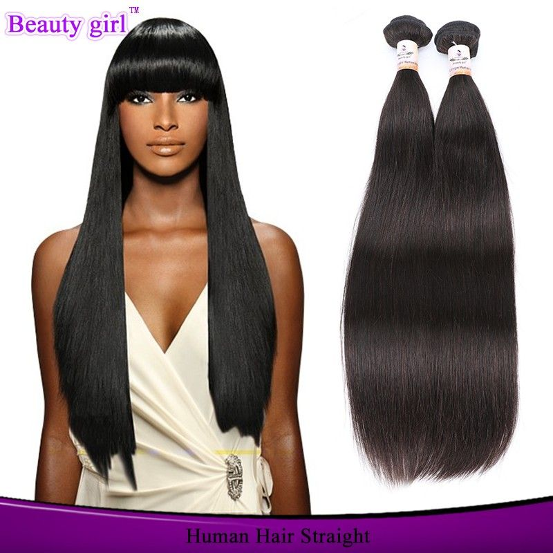 2017 New Style Guangzhou Wholesale Market Simply Natural Straight