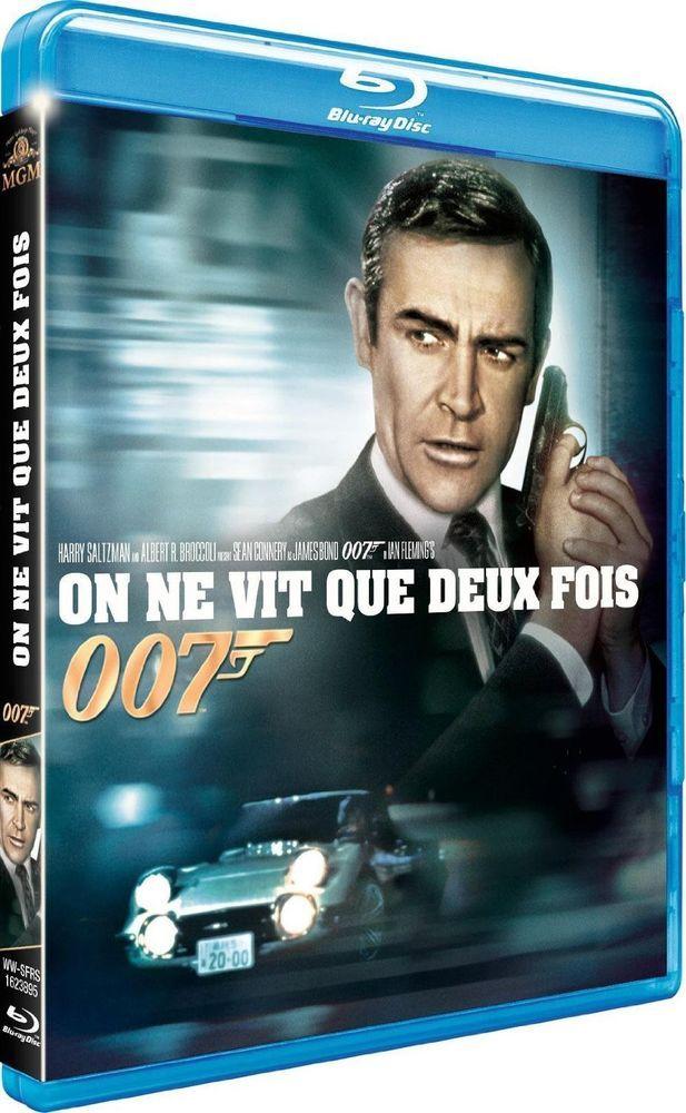 James Bond 007 On Ne Vit Que Deux Fois Blu Ray Neuf All James Bond Movies James Bond Movies Bond Movies