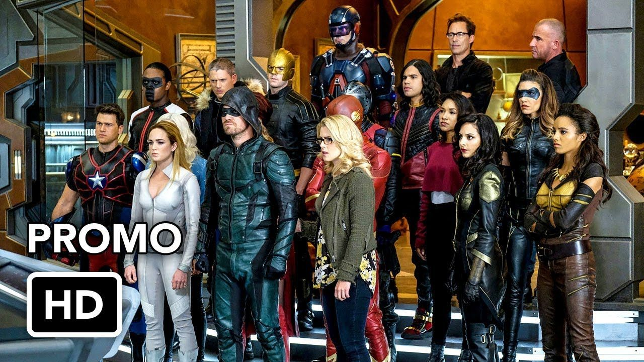 Dctv Crisis On Earth X Crossover Promo 3 The Flash Arrow