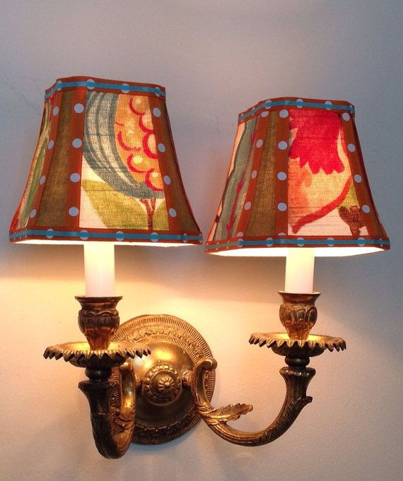 Whimsical and fun chandelier or sconce lamp shades mozeypictures Gallery