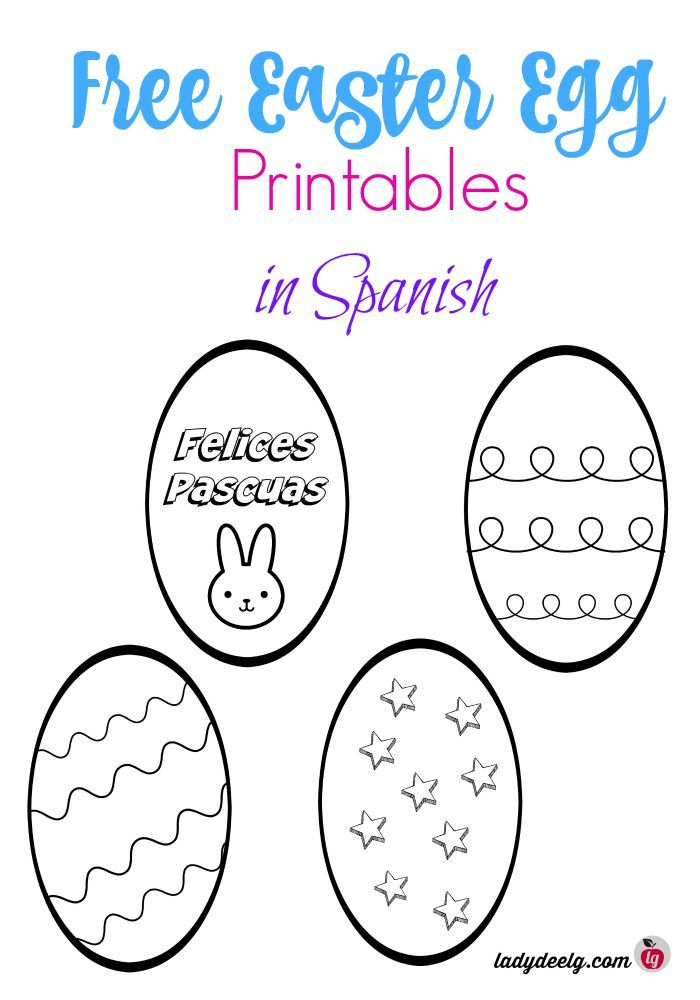 free easter printables in spanish easter and passover activities for kids easter printables. Black Bedroom Furniture Sets. Home Design Ideas