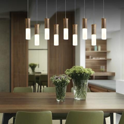 Pendant light Nodic Wood Kitchen Restaurants Bar Lighting Fixture Dining room #pendantlighting