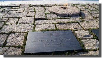 Tombe de JFK à Arlington