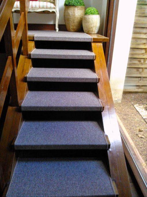 Resultado de imagen de forrar pelda os de escalera con - Peldanos para escaleras ...