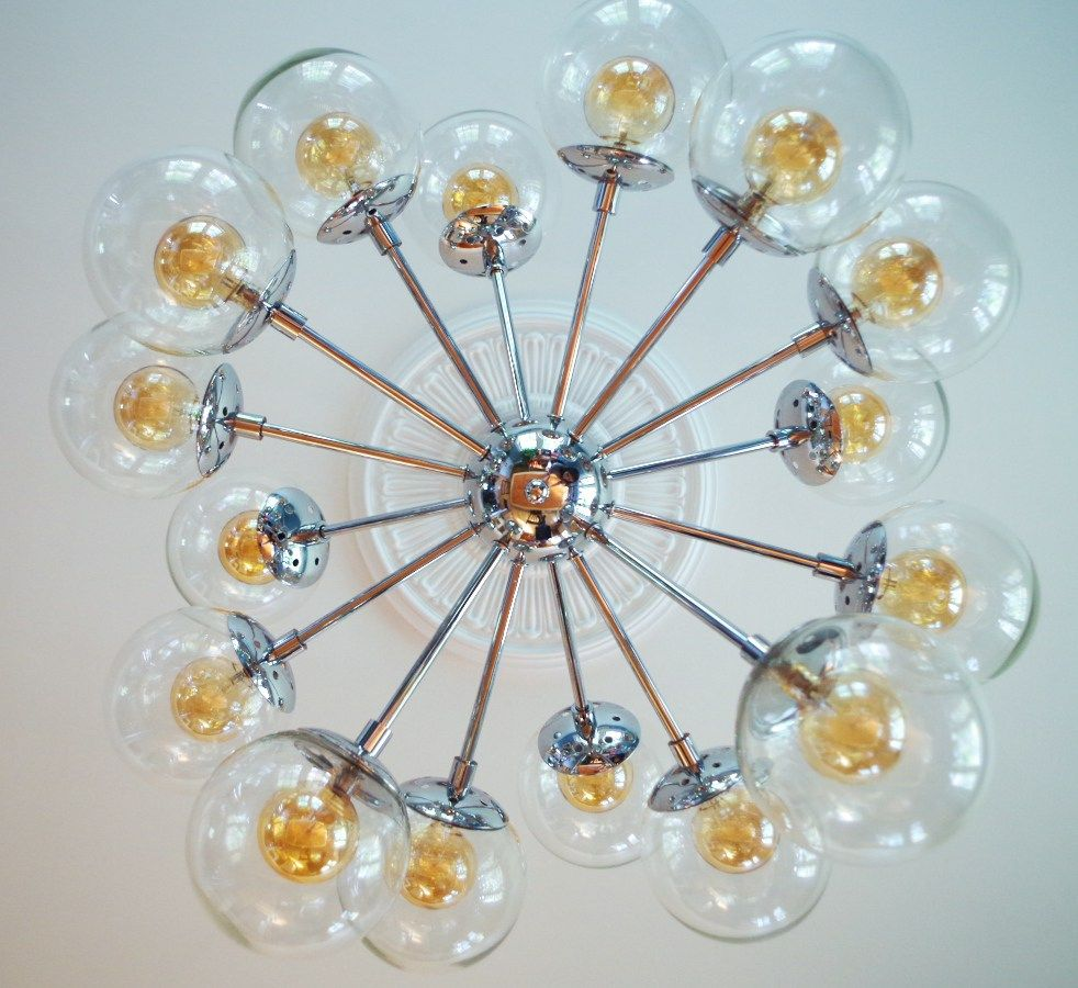 Finally a chandelier and how to install a ceiling medallion a chandelier and how to install a ceiling medallion arubaitofo Choice Image