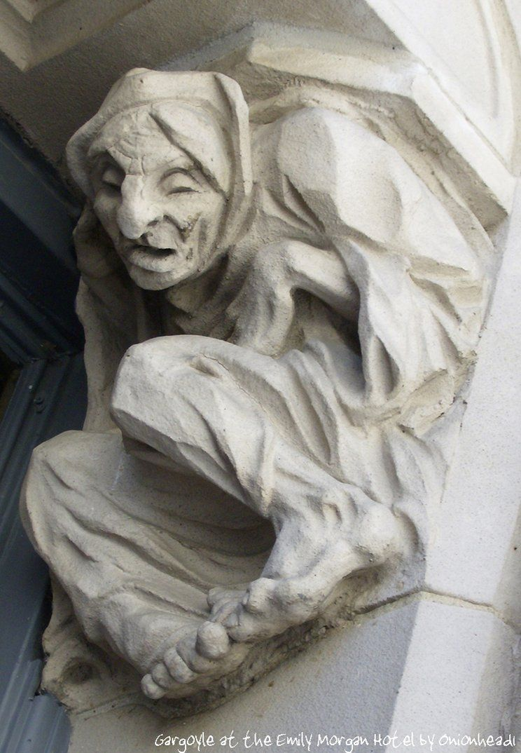 Grotesque At The Emily Morgan Hotel In San Antonio Texas From Onionhead