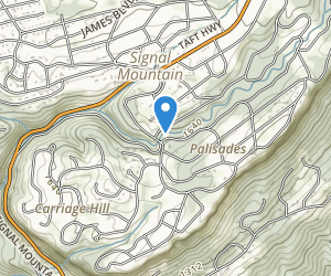 Green Gorge Park Trail Park Trails Signal Mountain Tennessee Signal Mountain