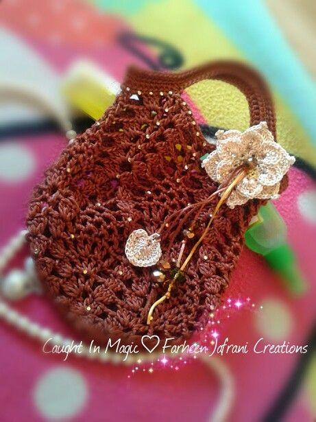 @Caught In Magic-Farheen Jafrani Creations.. Gift bag/pouch ♥♥