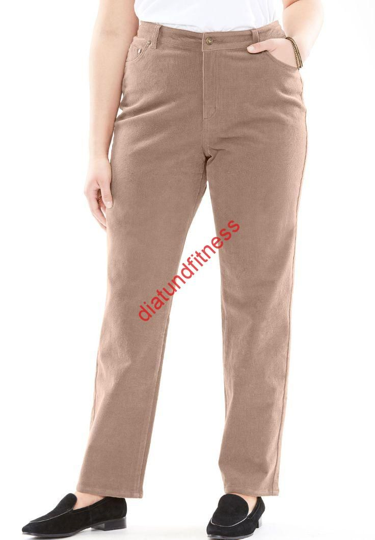 Strich Stretch Hose Aus Manchester Damen Plus Size Clothing Corduroy Straight Leg Stretch Pant Women S Plus Size Clothi Plus Size Pole Dancing Plus