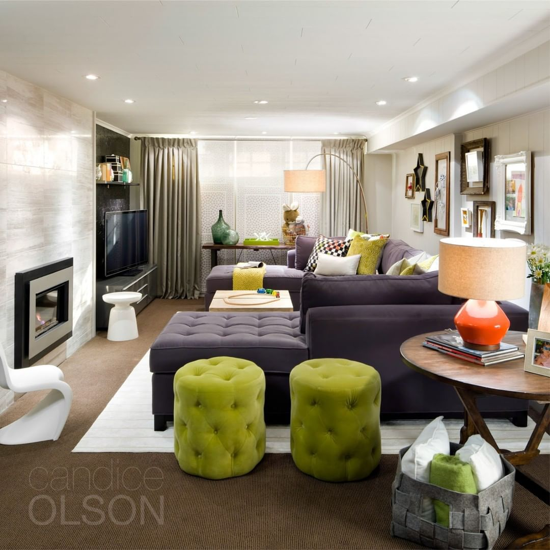 Candice Olson Basement Design: This Space Was Created To Provide A Family A Space To