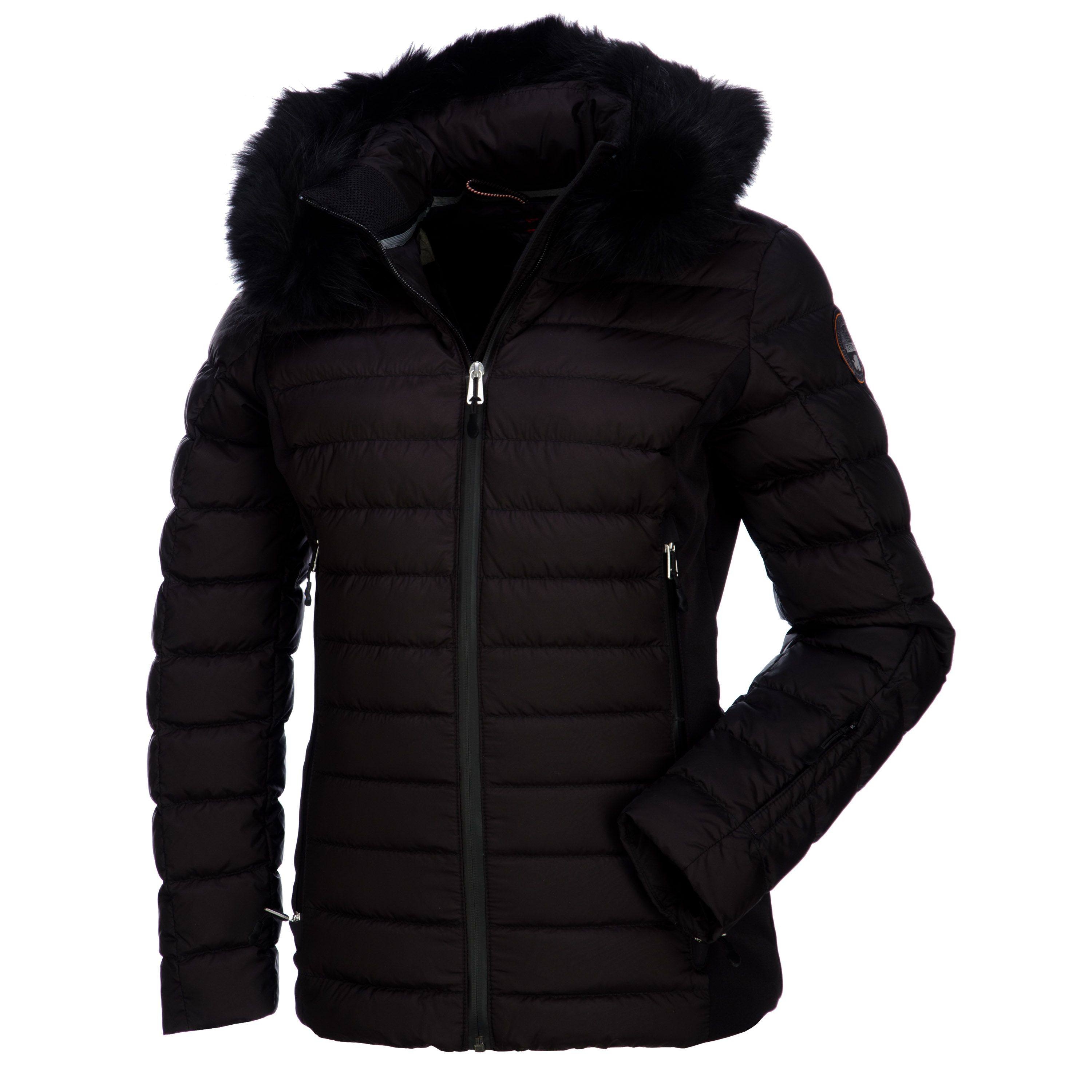 Ladies black padded ski jacket - The best jackets and coats of your choice
