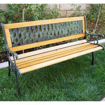 Eden Plastic Storage Bench Teak Garden Bench Metal Garden