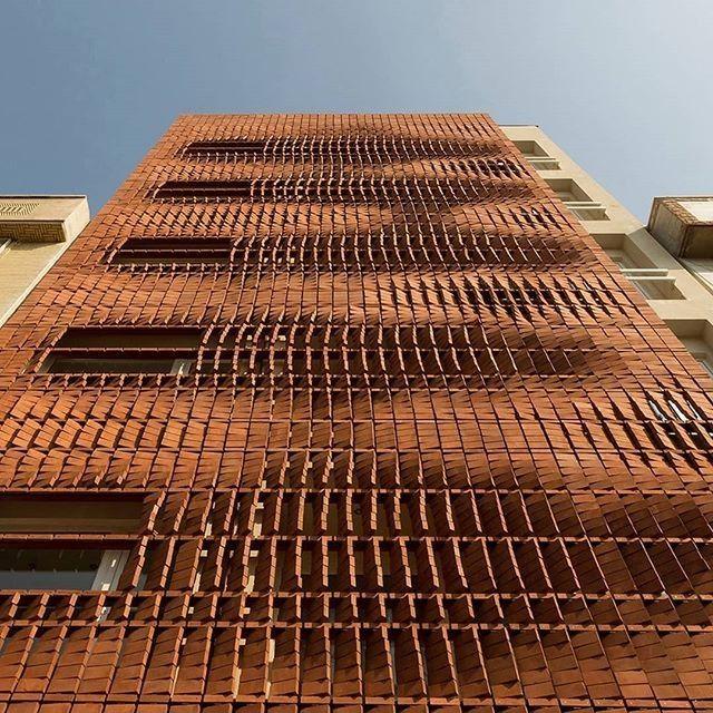 Bricks Studio: Cloaked In Bricks By Admun Studio, Tehran, Iran, Won A