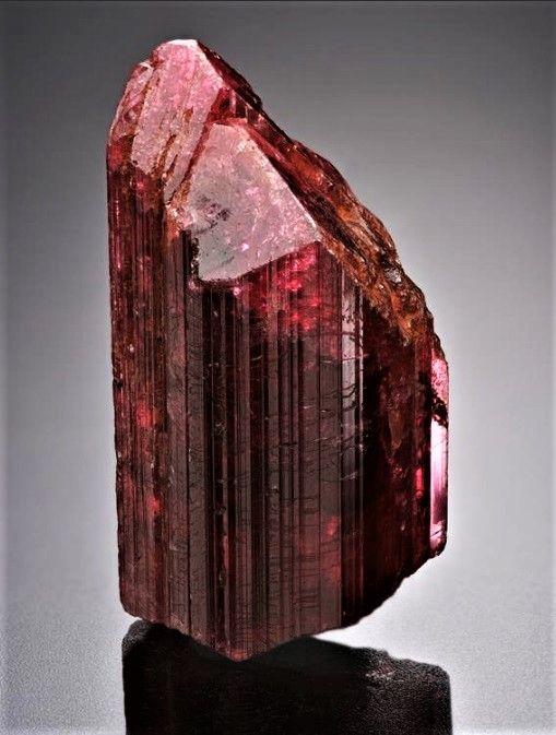 Madagascar tourmaline crystal