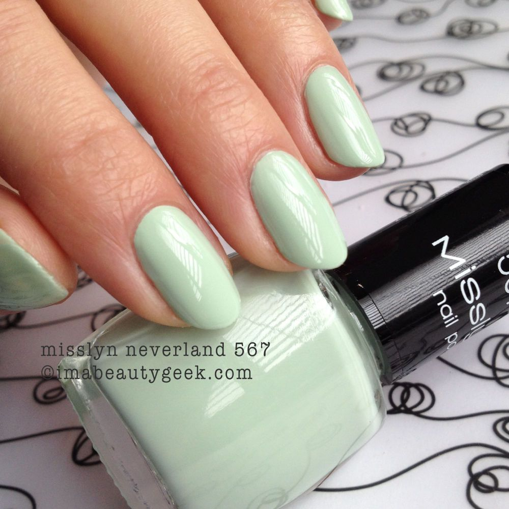 misslyn neverland 567 - click thru to imabeautygeek.com for MEGA-swatchin' of Misslyn!