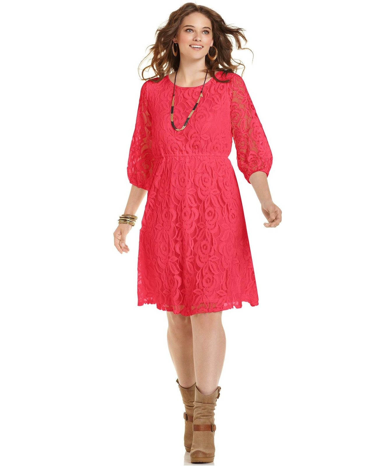 Fenomenales vestidos de verano para gorditas   Vestidos cortos de temporada e1a427ff6a