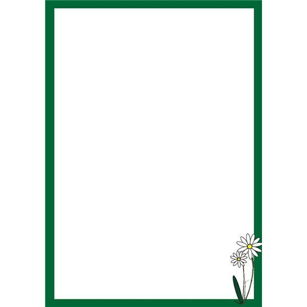 Awesome daisy page border clipart Borders Pinterest Clipart images - page border templates for microsoft word