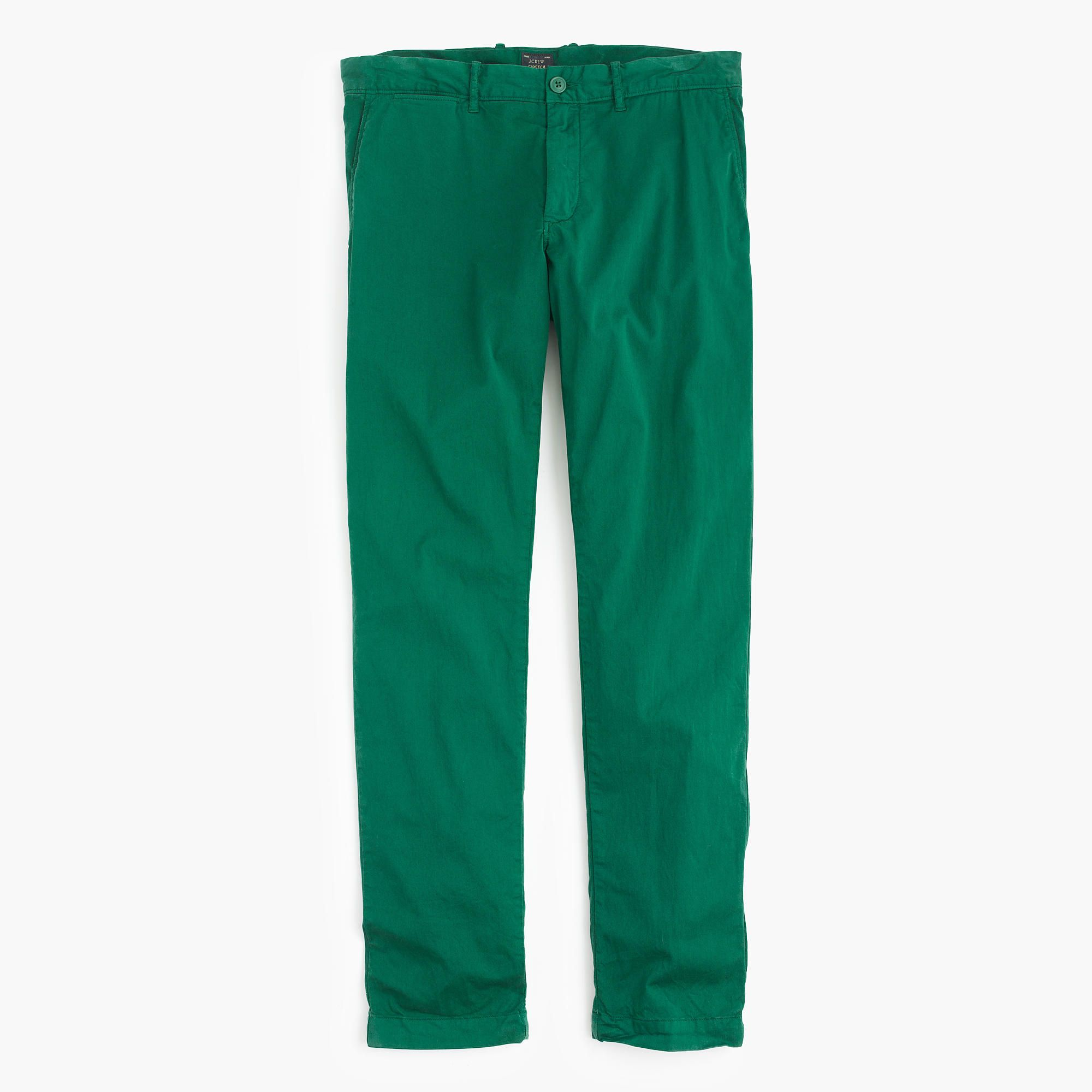 451773fb96b232 J.Crew - in off white Lightweight garment-dyed stretch chino pant in 484  slim fit