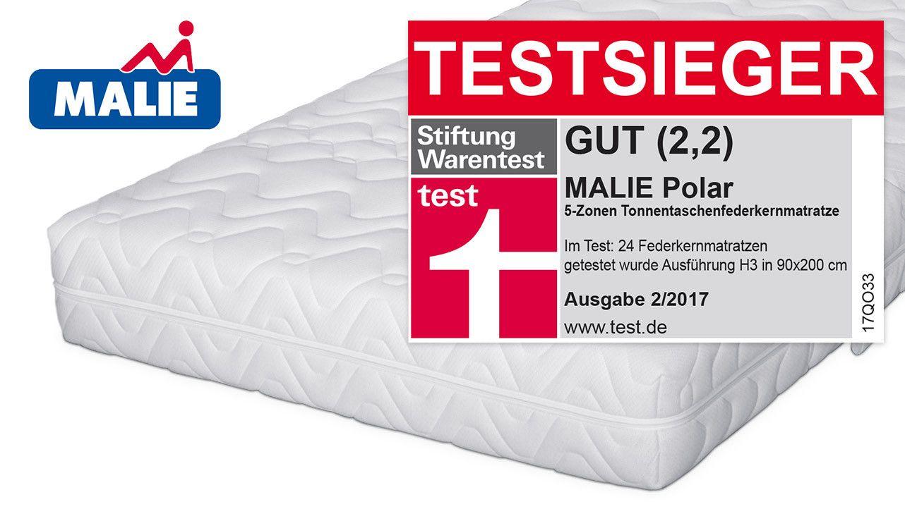 Matratzen Testsieger Beautiful Malie Taschenfederkern Matratze Polar Wird Testsieger Bei In 2020 Schlafzimmerdekoration Matratze Testsieger