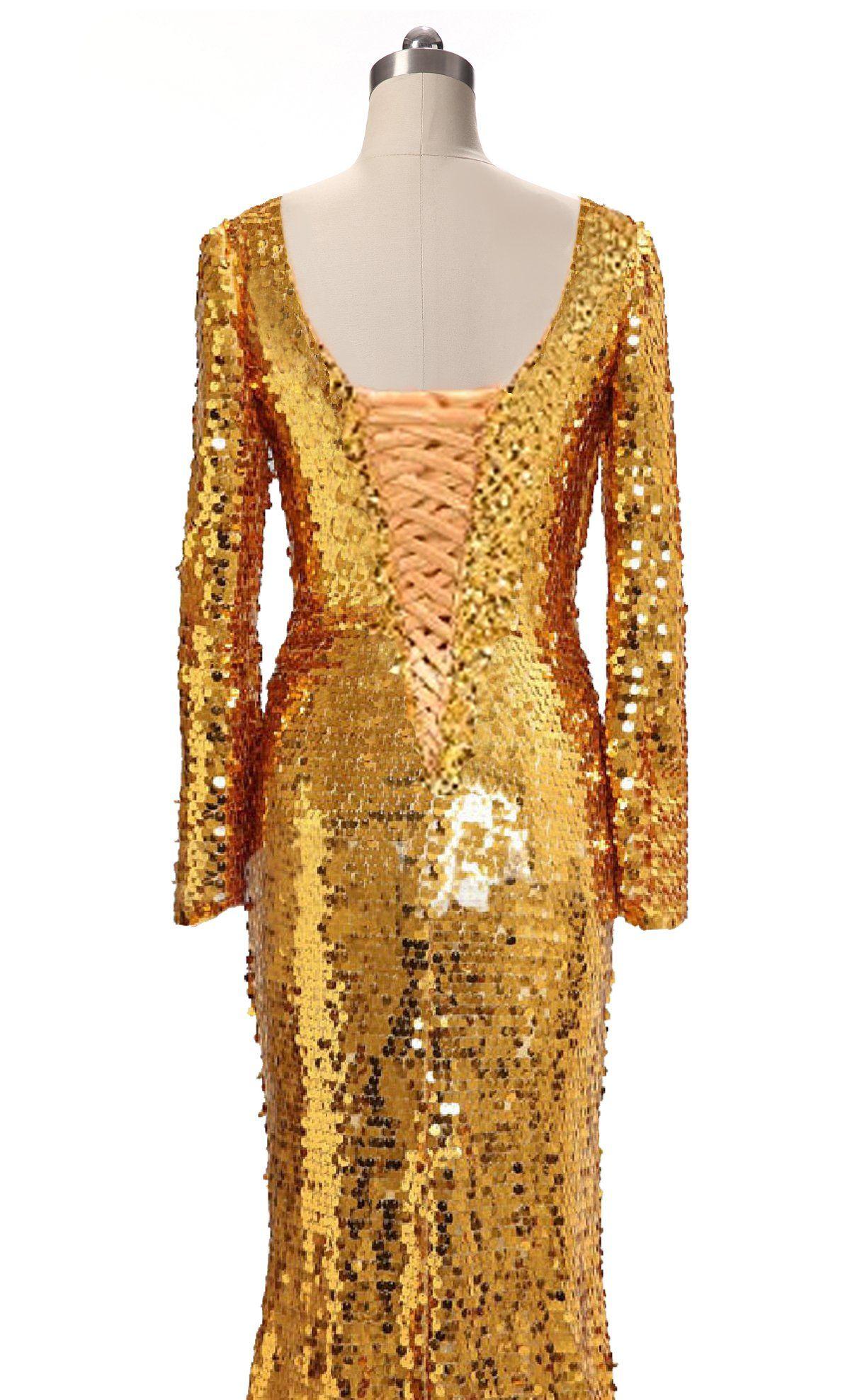 Jojobridal womens sequin long sleeves formal dresses deep v neck