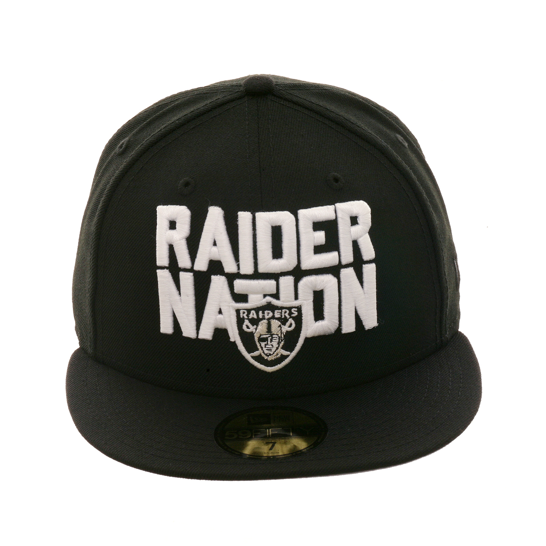 912c9c456c83cd Exclusive New Era 59Fifty Oakland Raiders 'Raider Nation' Hat - Black,  $24.98 - Save $15.01