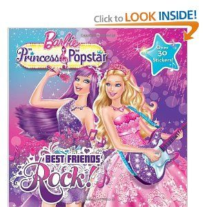 best friends rock barbie princess and the popstar book for audrey