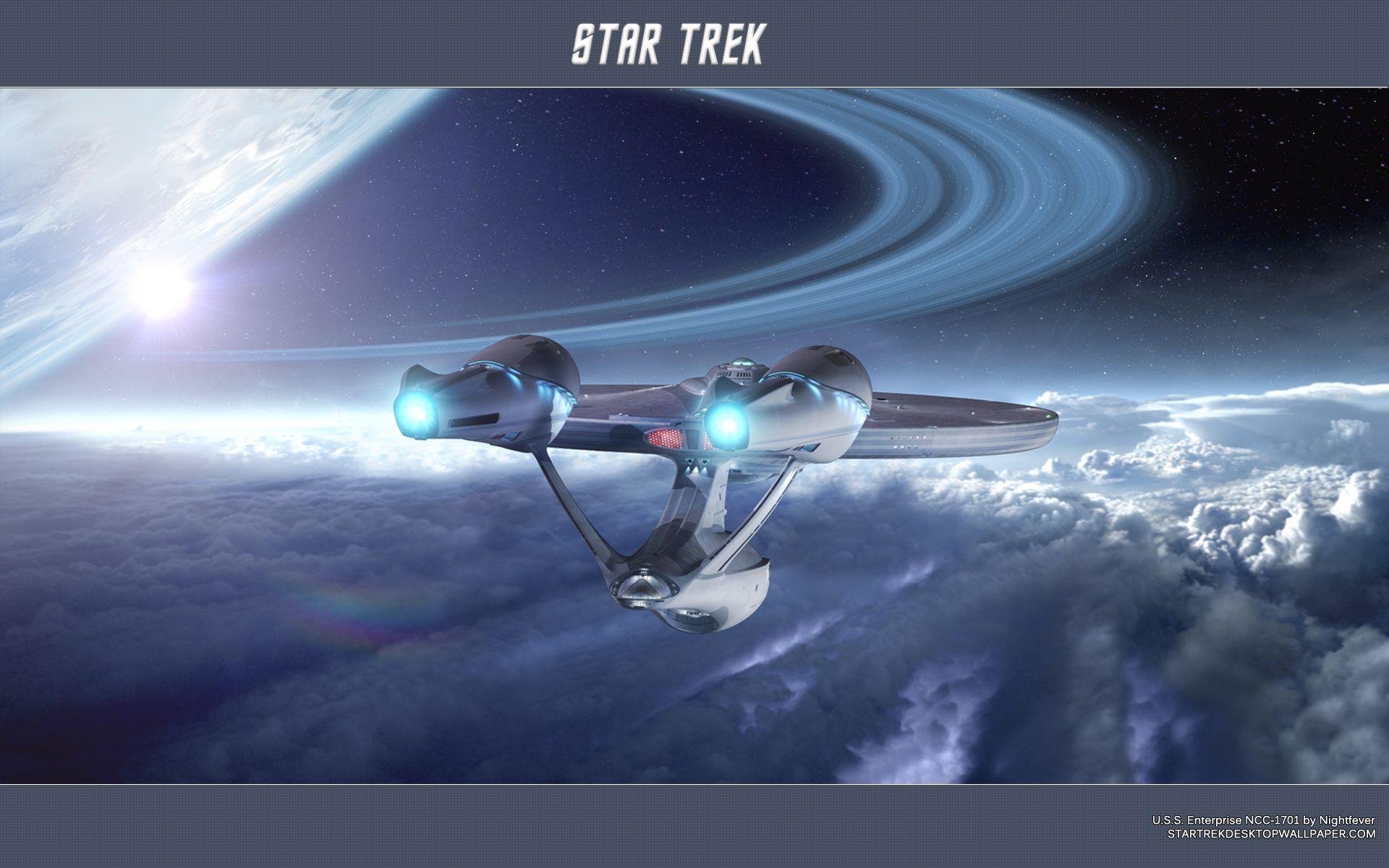 Star Trek 2009 Enterprise Wallpaper