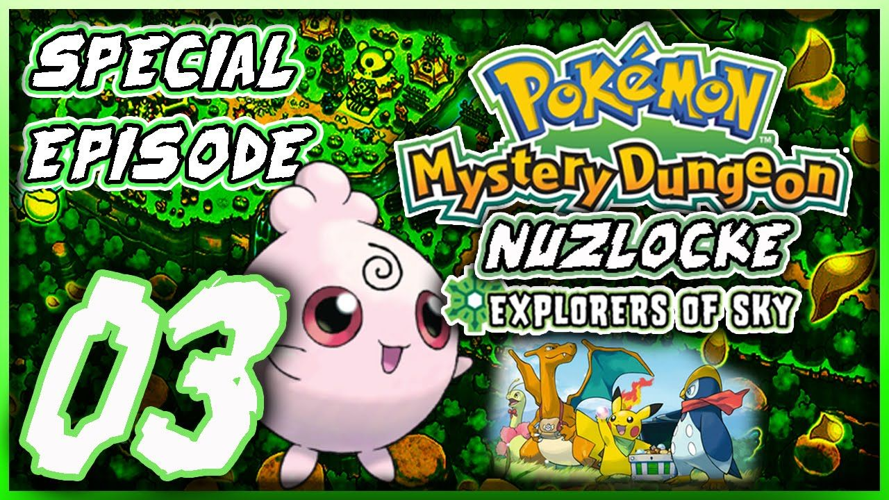 Pokemon Mystery Dungeon Explores Of Sky Special Episode