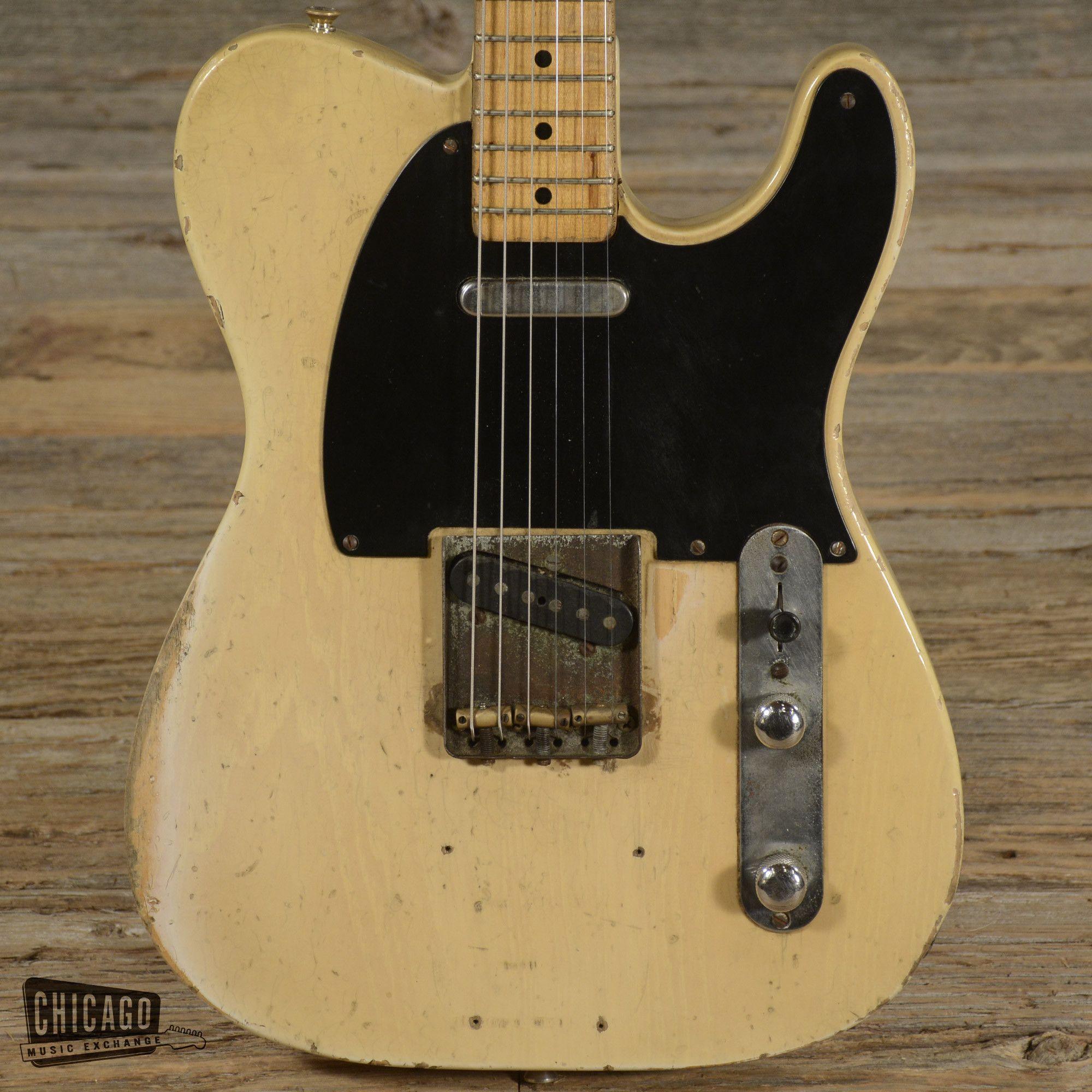 Fender Telecaster Blonde 1953 (s958)