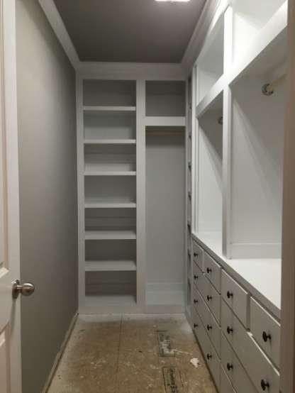 Narrow Bedroom Closet Walk In Wardrobe 25 Ideas For 2019