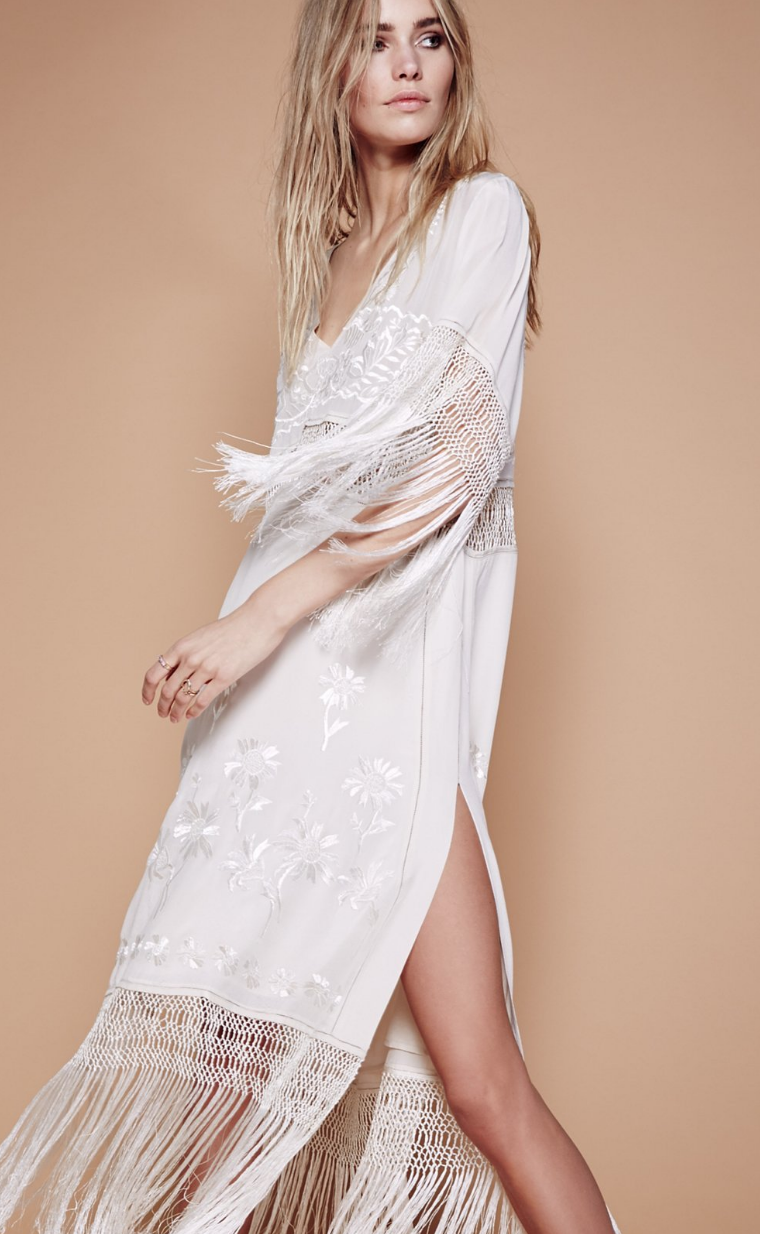 Ella Fringe Midi Dress Free People Wishlist Pinterest Midi