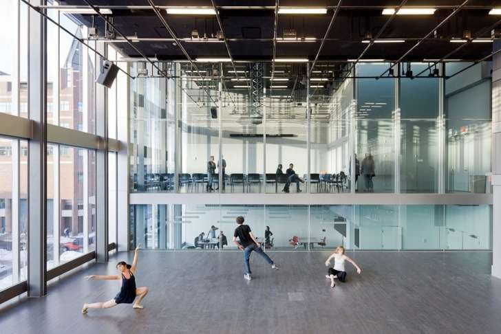 Ultra-Green Theaters : Brown University Creative Arts Center